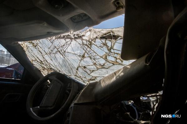 Все пострадавшие в аварии находились вВАЗ-2104