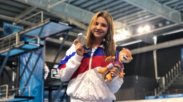 «Перепрыгнула всех»: волгоградка выиграла серебро юношеской Олимпиады в Аргентине