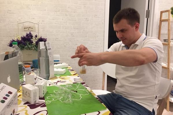 Выпускник УрФУ Андрей Елагин с партнерами продвигал свои работы с 2012 года