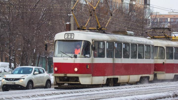 Уступи дорогу: на перекрестках на Ново-Садовой хотят отдать приоритет в движении трамваям