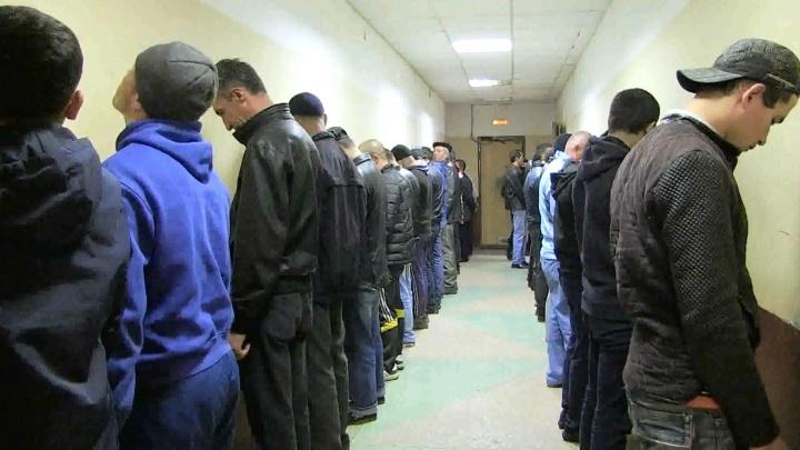 """Полиция задержала на """"Таганском ряду"""" и овощебазе 133 гастарбайтера"""
