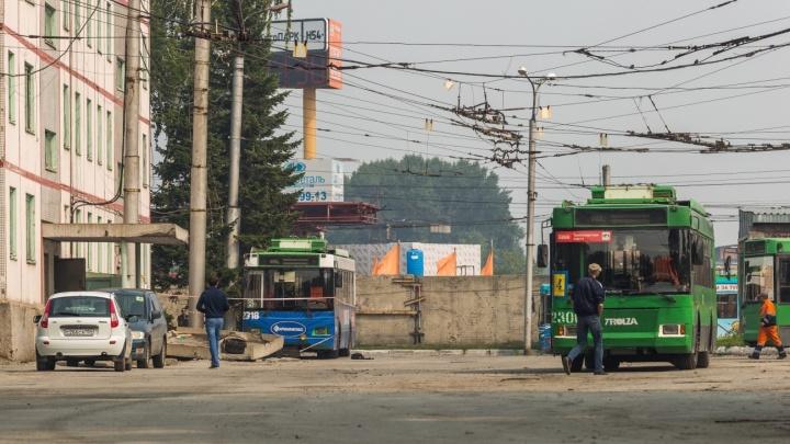 Водителя троллейбуса будут судить за гибель коллеги в депо