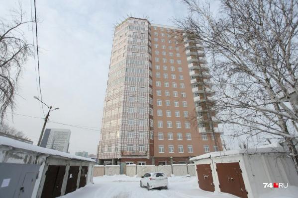 Здание на Курчатова, 28 несколько лет было «заморожено». Стройку возобновили к саммитам-2020