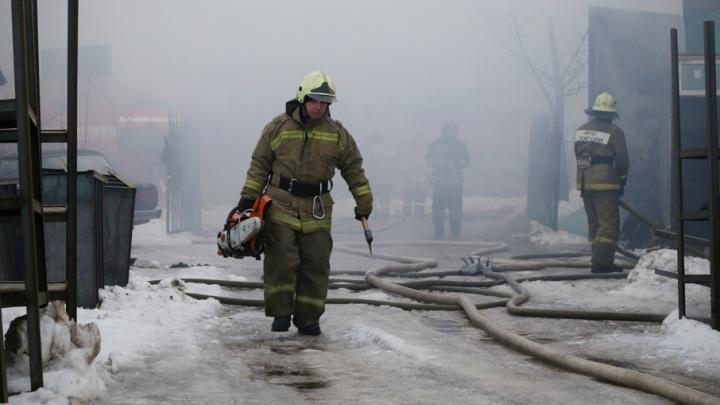 При пожаре в башкирской деревне погиб пенсионер