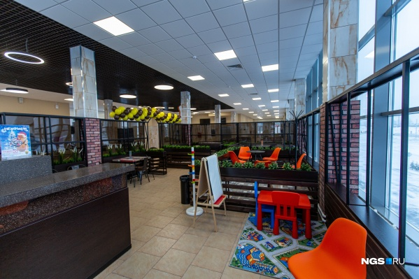 Кафе в новом автовокзале рассчитано примерно на 30 мест
