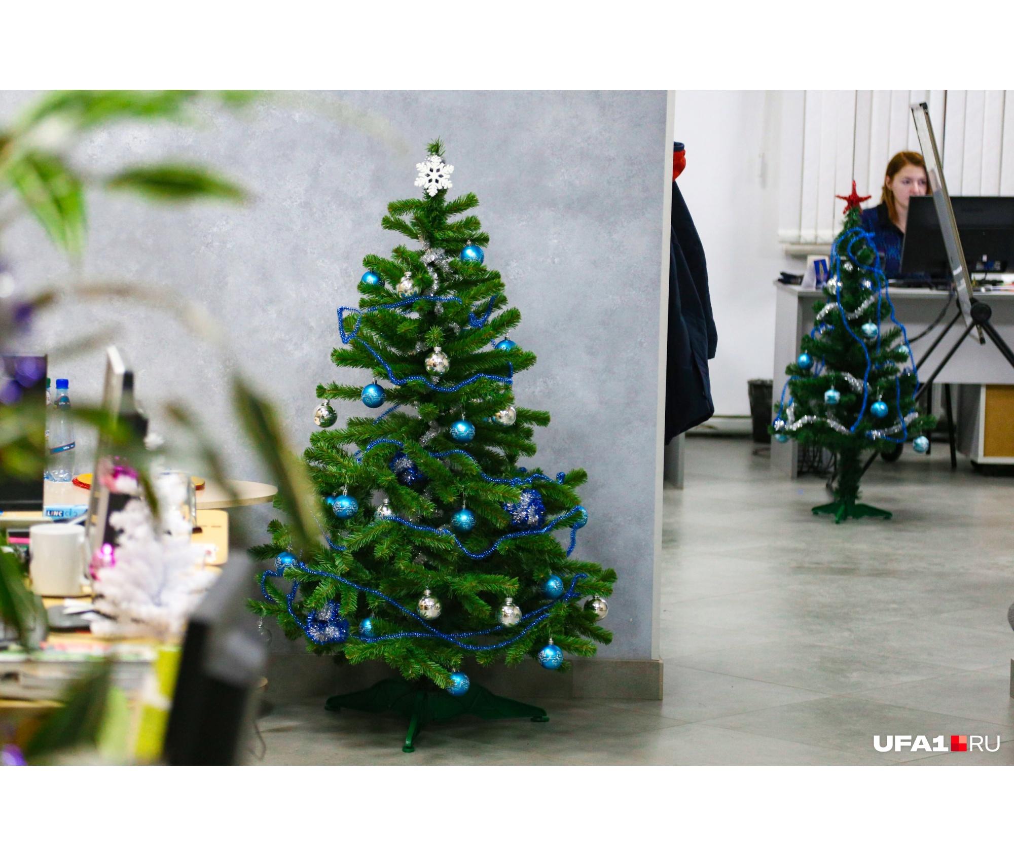 Новая русская традиция — встречать Новый год на работе