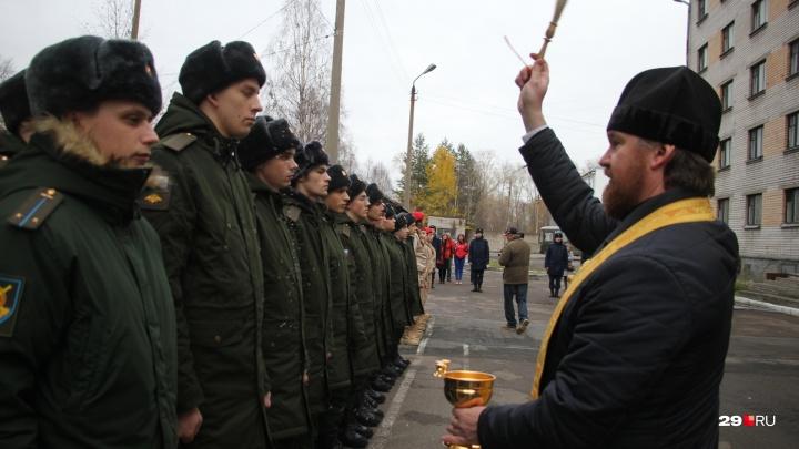 Здравствуй, осенний призыв: куда отправят служить срочников из Архангельской области