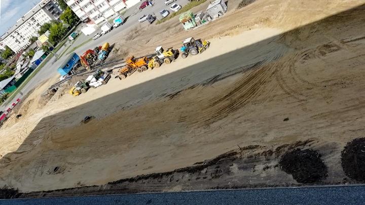 Автобусы меняют маршруты из-за строительства дороги на улице Бурова-Петрова в Кургане