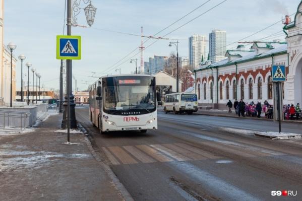 С 5 декабря до Перми I снова будут ходить автобусы