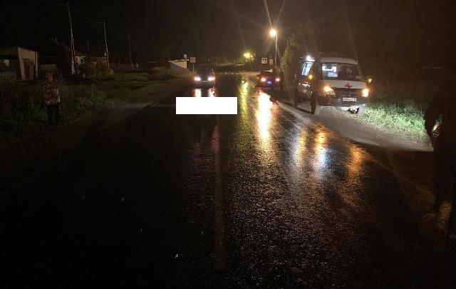 Вечером на свердловской дороге насмерть сбили пешехода