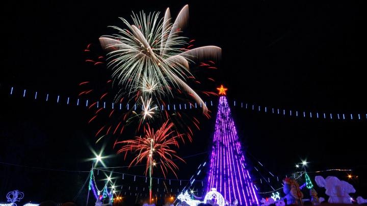 В новогоднюю ночь над Уфой прогремит салют