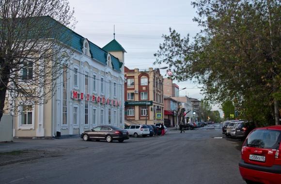 Курганцы вернулись к идее пешеходной улицы а-ля московскийАрбат