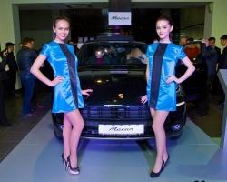Porsche Macan добрался до Казани