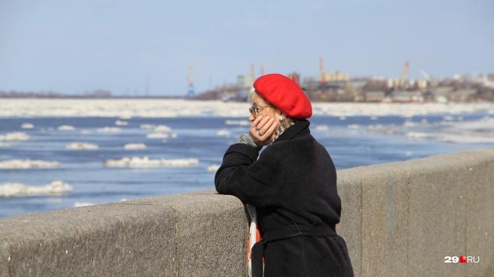 Не проспите весну: смотрим, как Архангельск встречает ледоход