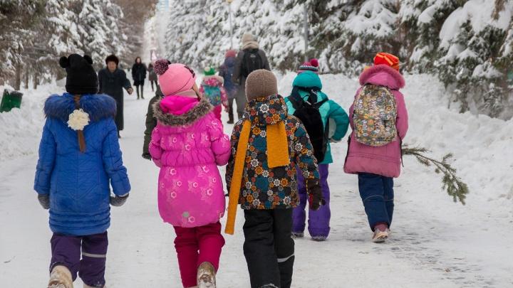 В начале рабочей недели в Самарской области потеплеет и снова выпадет снег