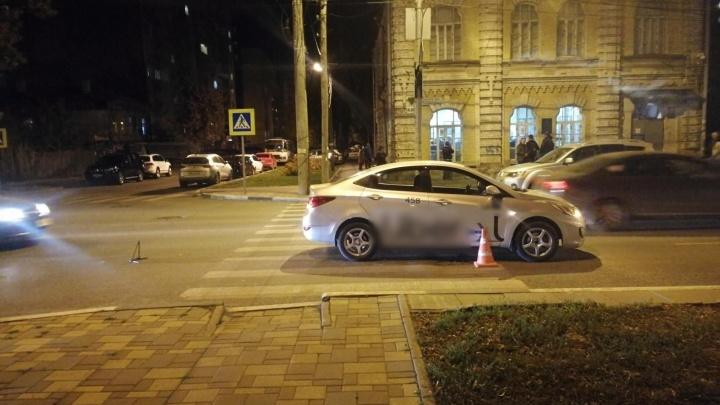 В Самаре на Вилоновской таксист сбил ребёнка