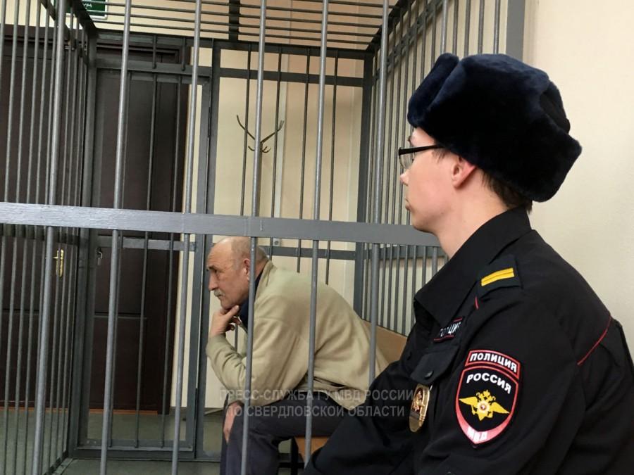 Воробьев в суде по предыдущему уголовному делу