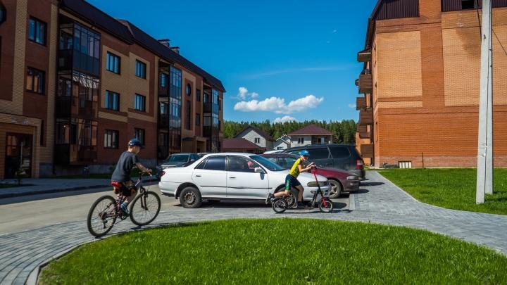 В Заельцовском бору строят уютный микрорайон с квартирами от 10 638 рублей в месяц