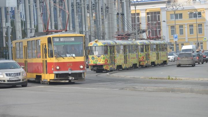 Движение трамваев на Вторчермет закроют на два дня