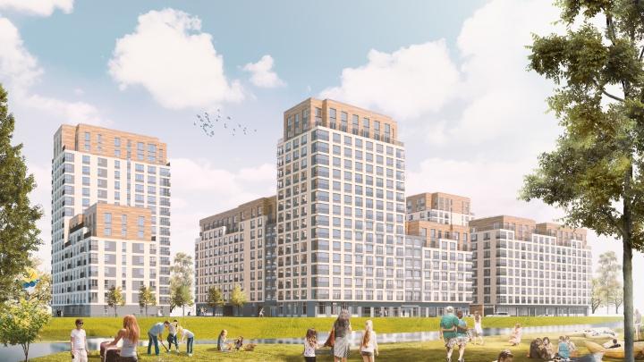 Новый городской квартал с речным парком появится в районе ДОК