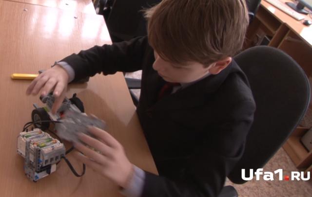 Видео: уфимские школьники раскрыли секреты робота-сапера