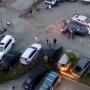 «Не может два слова связать»: водитель протаранил стоящие на парковке машины в Челябинске