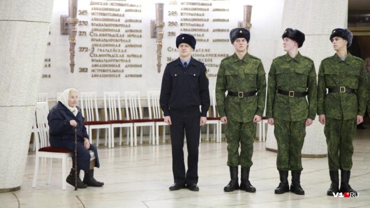 Все как на подбор: 15 волгоградцев отправились на службу в Кремлевский полк