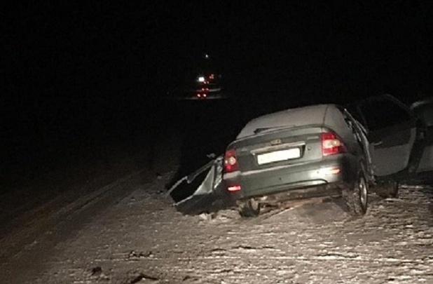 Всем по 18 лет: четверо волгоградцев пострадали в лобовой аварии под Волгоградом
