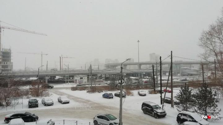 Снегопад, смог и -25 градусов: челябинцам рассказали о погоде на три дня