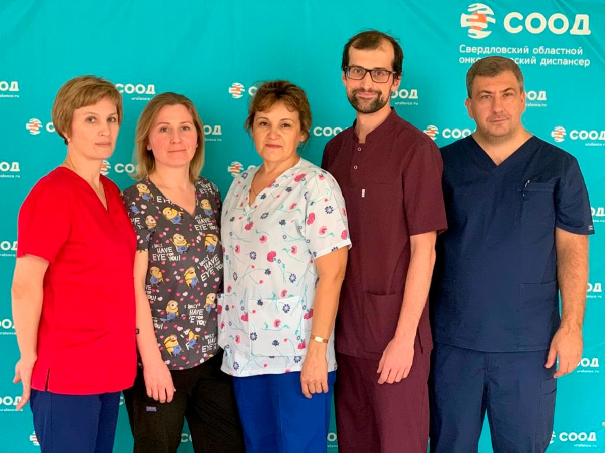 Бригада врачей, которые проводили операцию