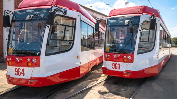 Самарские власти увеличили количество трамваев на маршруте № 25