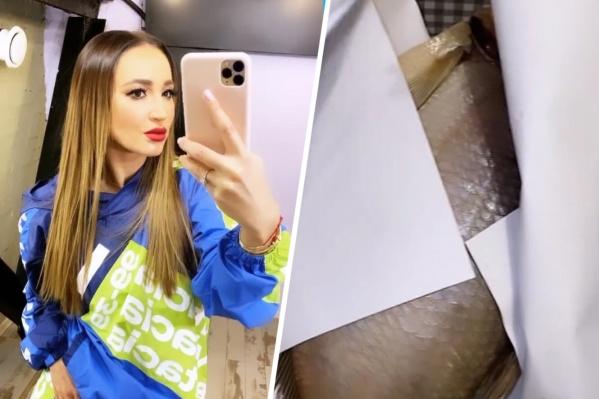 Исполнительница выложила видео с подарком после своего шоу в Ростове