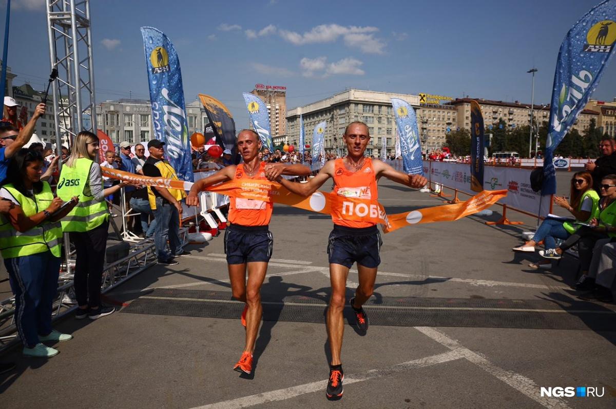 «Сибирский фестиваль бега-2018»: установлен рекорд по численности участников полумарафона (фото)