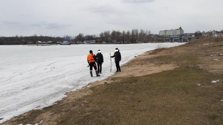 Пробивали палкой лёд: в Ярославле спасли двух подростков от гибели