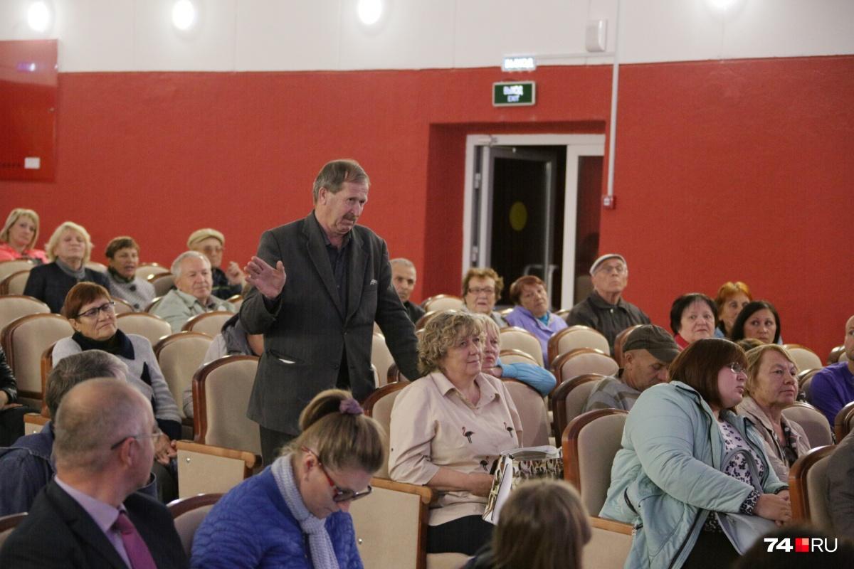 Десятки жителей пришли на слушания только ради того, чтобы услышать о проекте свалки