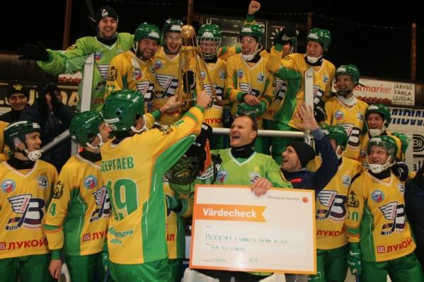 В финале турнира «Водник» обыграл шведскую команду АИК