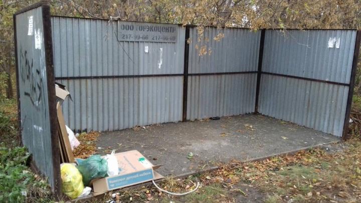«Это вредительство»: Челябинск рискует остаться без контейнерных площадок для сбора мусора