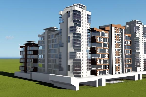 Новый комплекс займёт целый квартал