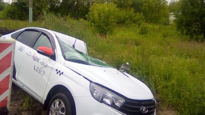 Фура вытолкнула легковушку под колёса другого грузовика: в Ярославле столкнулись сразу четыре машины