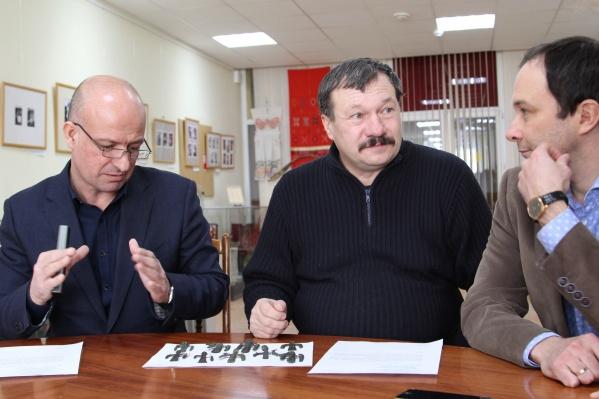 Андрей Евдокимов и Максим Щипачев поймали необычный улов