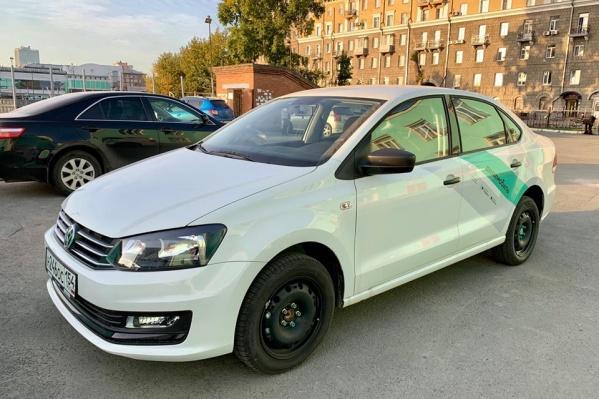Volkswagen Polo только сошли с конвейера