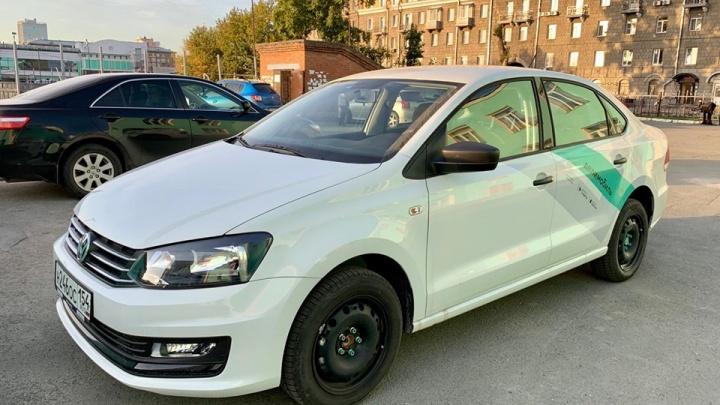 Таксистам объявили войну: московский каршеринг привёз в Новосибирск 150 новеньких «Фольксвагенов»