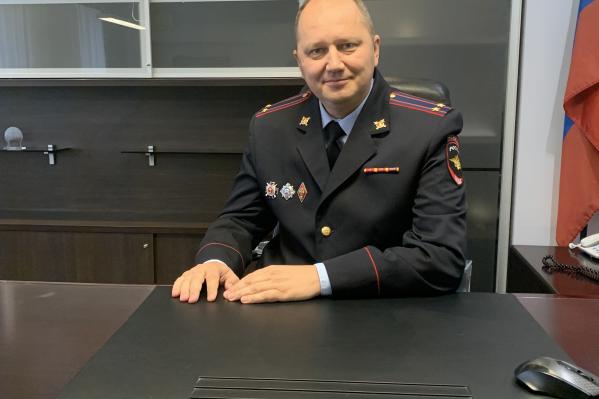 Андрей Капунов начал служить в ГАИ в 1997 году