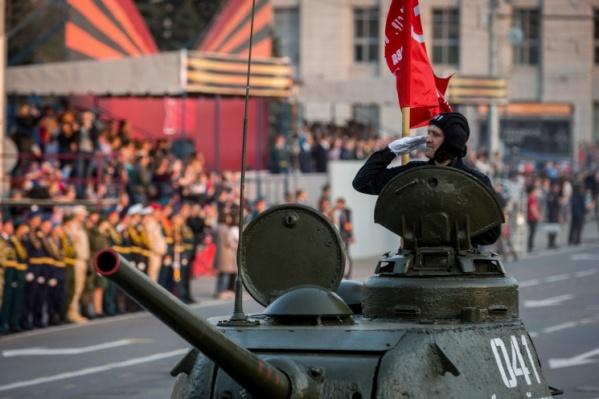 Центр Новосибирска уже перекрывали на этой неделе из-за репетиции парада