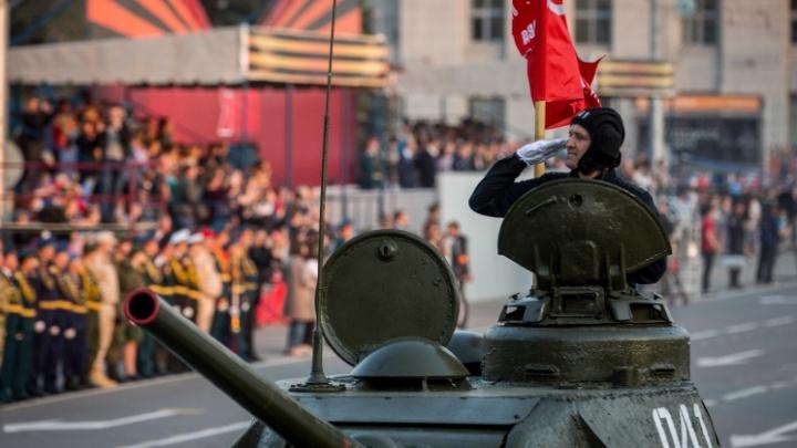 Центр — только для праздника: карта перекрытий в Новосибирске на День Победы