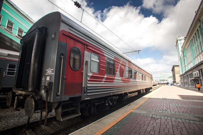 Поезд прибыл на вокзал Новосибирск-Главный утром 7 августа