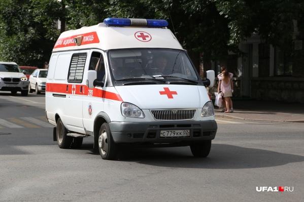 Девушку доставили в больницу