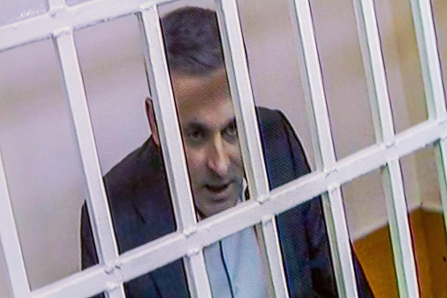 Константин Цыбко участвует в апелляции по видеосвязи, на заседания он надевает в СИЗО костюм
