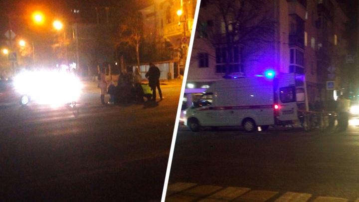 У площади Куйбышева водитель Toyota сбил 10-летнего мальчика на самокате