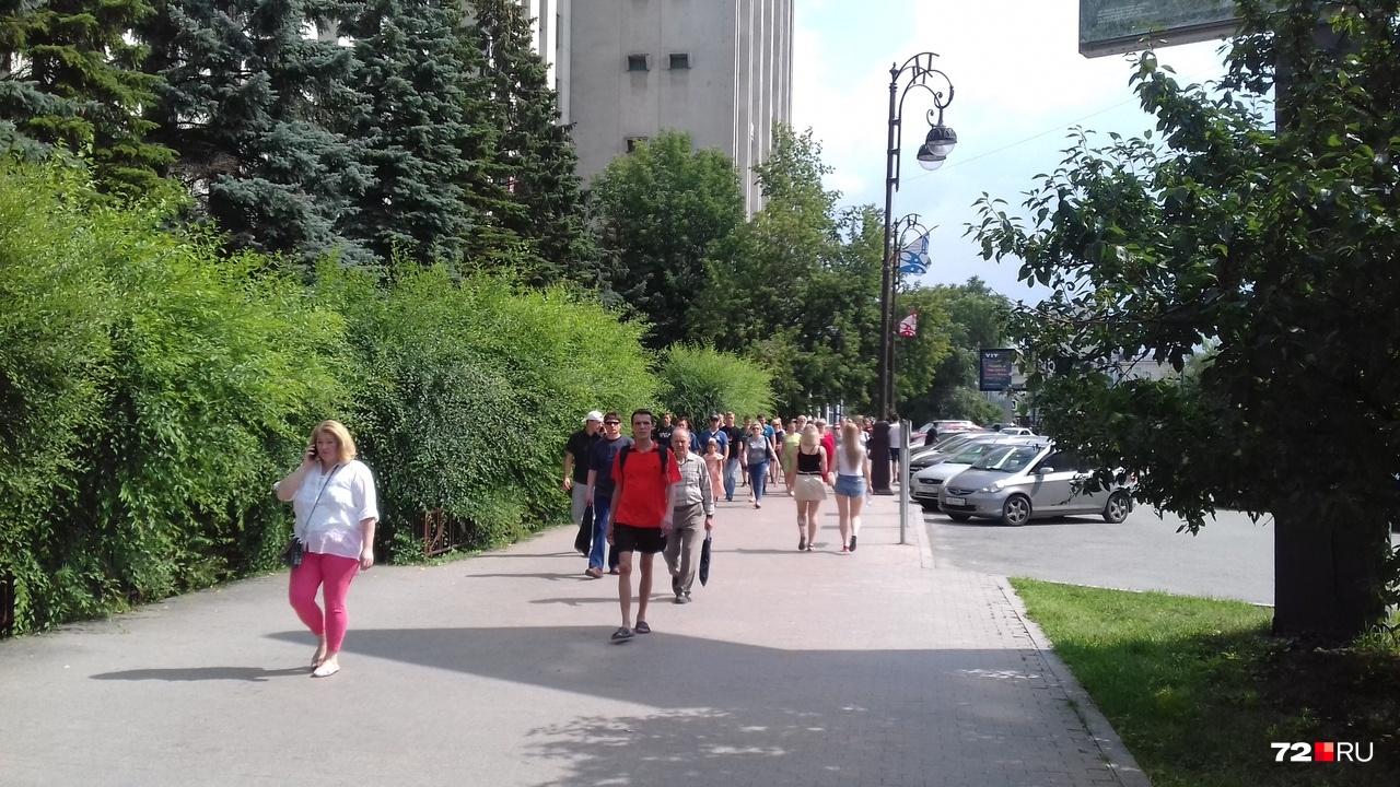 А вы уже гуляли по городу сегодня?